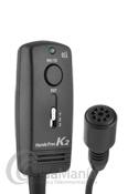 TTI THF-100 K2 MICROFONO MANOS LIBRES HANDS FREE PARA EMISORAS MIDLAND Y TTI - Micrófono manos libres de fácil instalación para emisoras Midland y TTI con conector de micrófono de 6 pins de rosca.