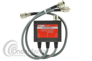 TRIPLEXOR MX-2000-PWR-N TRIPLEXOR 1,6 A 60, 110 A 170 Y 350 A 570 MHZ CON CABLES