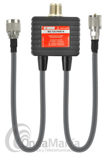 KOMUNICA POWER MX-720-PWR-N DUPLEXOR CON CABLES