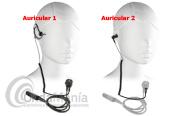 PWR-23-DP2000 PINGANILLO NEGRO CON 2 AURICULARES PARA MOTOROLA TETRA DP-2400/SERIE 2000/3000 - Micro auricular negro, con orejera intercambiable, clásico y discreto, IP54 Watter Resistant, ergonómico con cable rizado disponible para walky talkys Motorola tipo al DP-2400 o series 2000/3000. El pack incluye dos auriculares uno de silicona y otro con soporte de oreja