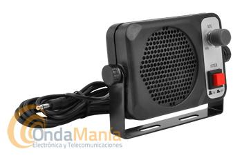 ALTAVOZ EXTERIOR SPK-22 CON FILTRO Y CONTROL DE VOLUMEN - Altavoz exterior con 2W, 8 Ohm. de potencia, incluye filtro y control de volumen