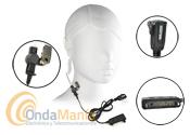 ES-P04MC/PIN-39-G2 MICROFONO AURICULAR ACUSTICO PARA TETRAPOL MATRA EASY-SMART - Micrófono auricular tubular de alta gama acústico para walkys Tetrapol Matra Eads modelos Smart y Easy, muy discreto ideal para seguridad.