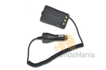 ELIMINADOR DE BATERIA PARA DYNASCAN DB-92 - Con este adaptador puede conectar el walky a la toma de encendedor de su vehículo o fuente de alimentación y asi reemplazar la batería.