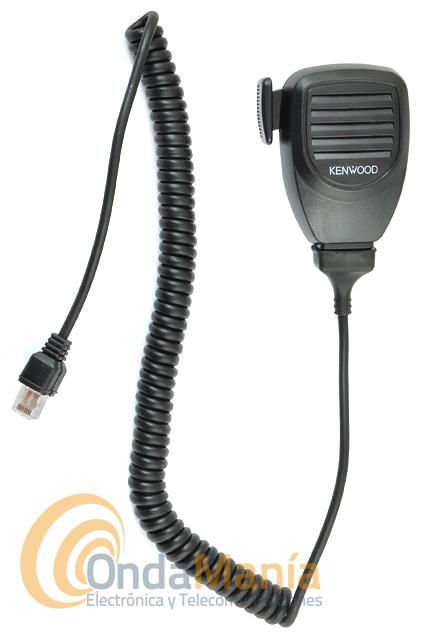 MICROFONO PARA EQUIPOS MOVILES KENWOOD CON CONECTOR RJ8