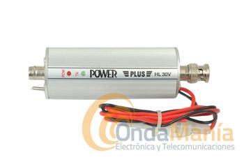 HL-30V AMPLIFICADOR DE VHF CON 35 W - Amplificador para la banda de VHF (2 m) con una salida maxima de potencia de 30 W