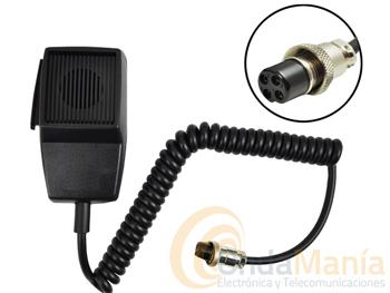 DMC-508/4 MICROFONO SUPER STAR O PRESIDENT - Micrófono de repuesto para Super Star 3900, 360 o Super Jopix 2000 o para equipos President con toma de micrófono de 6 pins
