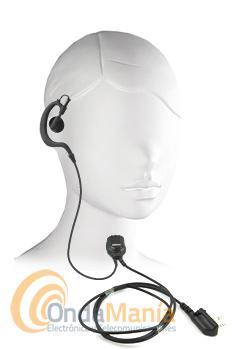 MICROFONO AURICULAR PARA WINTEC - Micrófono auricular con PTT y auricular ergonómico para Wintec