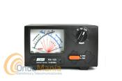 """NISSEI RX-103 MEDIDOR DE ROE Y VATIMETRO 1,6 - 60 MHZ - Medidor de RF de ondas estacionarias y vatímetro de agujas cruzadas de gran precisión para medidas de potencia directa, potencia reflejada y relación de ondas estacionarias """"VSWR"""" con un rango de frecuencia de 1,6 a 60 Mhz."""