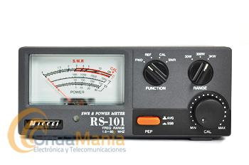 NISSEI RS-101 MEDIDOR DE ROE Y VATIMETRO DE 1,6 A 60 MHZ
