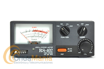 NISSEI RS-402 MEDIDOR DE ROE Y VATIMETRO 125 - 525 MHZ