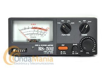 NISSEI RS-502 MEDIDOR DE ROE Y VATIMETRO 1,8 - 525 MHZ
