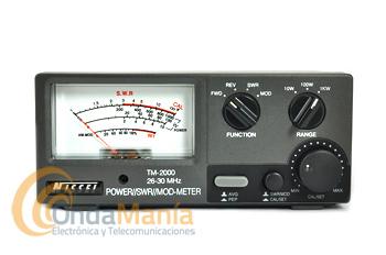 NISSEI TM-2000 MEDIDOR DE ROE Y VATIMETRO DE 26 A 30 MHZ