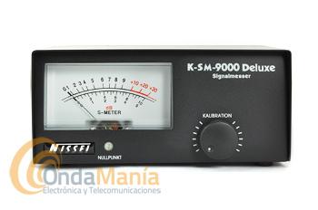 NISSEI K-SM-9000 DELUXE S-METER EXTERNO DE 26 A 30 MHZ - Medidor externo de señal s-meter con un rango de frecuencias de 26 - 30 Mhz