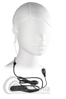 JETFON JR-2013 PINGANILLO ACUSTICO PARA MOTOROLA SERIES 3000 - Micro auricular pinganillo de alta calidad acústico y transparente para Motorola DMR MOTOTRBO DP-3400, 3401, 3600, 3601, MTP-850S,...