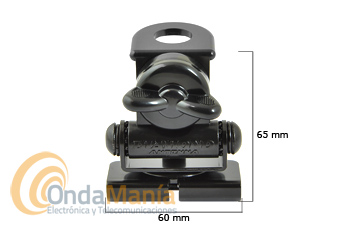 DIAMOND K-416 MINI SOPORTE DE ANTENA - El Diamond K-416 es un mini soporte articulado ajustable muy robusto para maletero de gran calidad. Diamond original Japón.