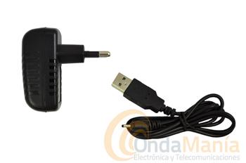 CARGADOR COMPLETO PARA DYNASCAN R-10 - Cargador de 220V con cable USB para el Dynascan R-10.