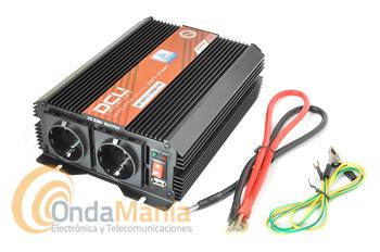 DCU-1000-12V CONVERSOR/INVERTER 12V A 220V CON 1000W ONDA MODIFICADA