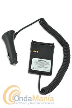ELIMINADOR DE BATERIA PARA DYNASCAN V-300, V-400, V-500, U-510 - Con este adaptador puede conectar el walky Dynascan o Midland a la toma de encendedor de su vehículo o fuente de alimentación.