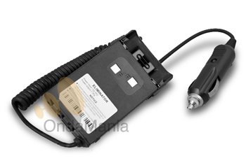 ELIMINADOR DE BATERIA PARA DYNASCAN DB-48, DB-75, R-46 Y MIDLAND CT-790 - Con este adaptador puede conectar el walky a la toma de encendedor de su vehículo o fuente de alimentación.