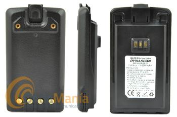 BATERIA PARA DYNASCAN R-77 - Pack de baterías de litio para el Dynascan R-77 con 7,4 V y 1600 mAh
