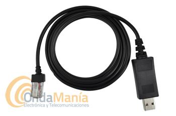 CABLE DE PROGRAMACION PARA DYNASCAN 920 Y DYNASCAN 950P - Cable de programación con conector USB para el Dynascan 920 y Dynascan 950P Y WOUXUN KG-UV920P