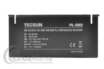 TAPA SOPORTE TRASERA PARA RADIO TECSUN PL-880