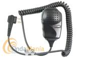 MICROFONO ALTAVOZ MOTOROLA MAG ONE PARA CP-040 Y DP-1400, DYNASCAN, YAESU Y MIDLAND,... - Micrófono altavoz Motorola compatible con los Motorola CP-040, GP-300 y DP-1400, Dynascan RL-120U, R-58, Midland G-18,...