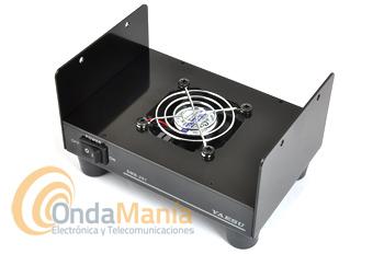 YAESU SMB-201 VENTILADOR REFRIGERADOR PARA EQUIPOS MOVILES YAESU - El Yaesu SMB-201 es un soporte para ventilación y disipación de calor del calor en los equipos móviles multibanda como los Yaesu FTM-400DE, FT-8900, FT-8800, FT-7900, SAD-11C,.....