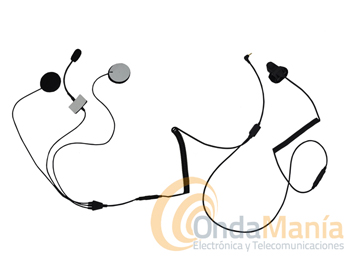 MICROFONO AURICULAR TOPCOM MB01 - Micrófono auricular para moto Topcom