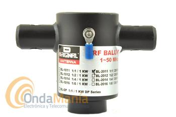 D-ORIGINAL BL-2011 BALUN 1:1 / 200 W / 1 - 50 MHZ - Balun 1:1 con un rango de frecuencia de 1 a 50 Mhz y una potencia máxima de 200 W y 50 Ohm.