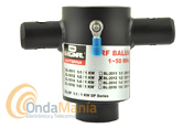 D-ORIGINAL BL-2012 BALUN 1:2 / 200 W / 1 - 50 MHZ - Balun 1:2 con un rango de frecuencia de 1 a 50 Mhz y una potencia máxima de 200 W y 50 Ohm.