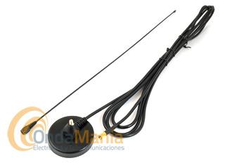 TELECOM EX-35VS ANTENA DE VHF CON BASE MAGNETICA