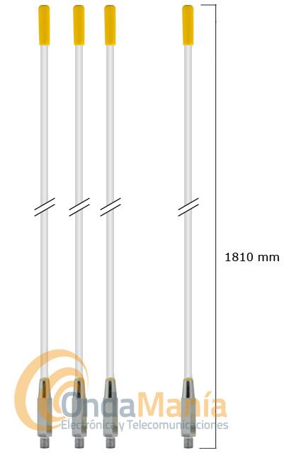 SOLARCOM GPK1 KIT PLANO DE TIERRA RADIALES PARA LA SOLARCOM A-99