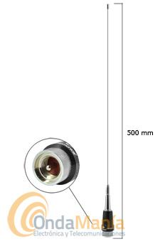 KOMUNICA PWR-MA-200V ANTENA AJUSTABLE DE MOVIL DE VHF