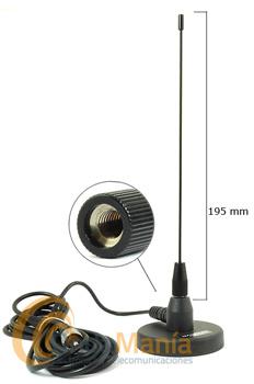 DIAMOND MC-201 ANTENA MAGNETICA UHF 340 A 520 MHZ