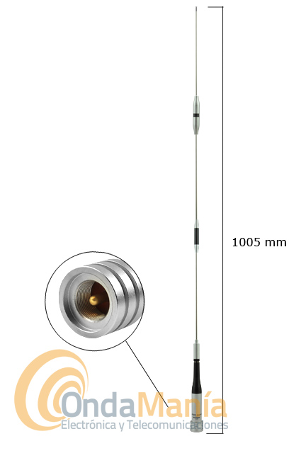 DIAMOND SG-7500 ANTENA DOBLE BANDA ORIGINAL JAPON