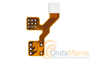 CINTA UNION POTENCIOMETROS A PCB PARA TK-3301 - Cinta de unión de los potenciometros de volumen/On/Off y encoder a la placa de circuito impreso del Kenwood TK-3301