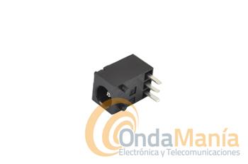 CONECTOR DE ALIMENTACION KENWOOD PARA TH-K2, TH-K4, TH-F7, TH-22, TH-79,... - Conector de alimentación y carga para los Kenwood TH-K2, TH-K4, TH-F7, TH,22, TH-79,...