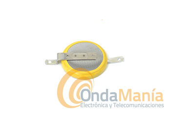 PILA DE LITIO PARA KENWOOD TM-231 Y TM-241 - Pila de litio CR-2032 con 3V y pestañas para equipos Kenwood TM-231 y TM-241 o similares