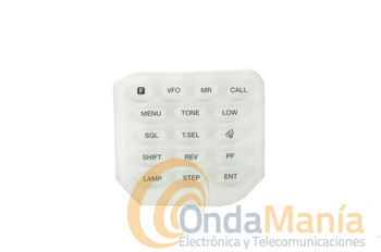 TECLADO FRONTAL PARA EL KENWOOD TH-K20 Y TH-K40