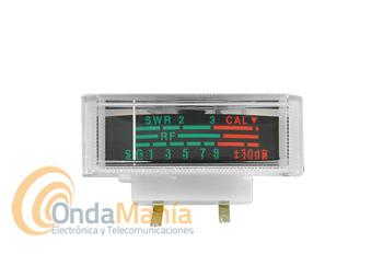 INSTRUMENTO S-METER E INDICADOR DE ROE PARA SUPER STAR - Instrumento S-Meter e instrumento para medir y calibrar la ROE  para la Super Star 3900, 360, Super Jopix 1000, 2000,...