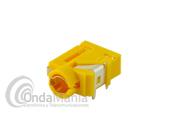 CONECTOR EAR-MIC PARA YAESU Y VERTEX FT-60, FT-250, VX10, VX410, VX-350, VX-230,... - Conector ear-mic o micro-altavoz (pinganillo) para los Yaesu y los Vertex FT-60, FT-250, VX-10, VX-410, VX-350, VX-230,...