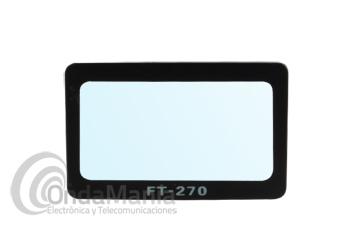 PROTECTOR PARA EL DISPLAY LCD DEL YAESU FT-270