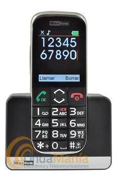 TELÉFONO MÓVIL MAXCOM MM720 BB  ( LIQUIDACION POR CAJA EN MAL ESTADO) - Teléfono móvil Maxcom MM720 BB. Menu de sencillo uso y gran tamaño de letras y números. Pensado para personas con problemas de visión o mayores. Botón de emergencia SOS en la parte trasera