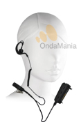 ES-P02MC / PIN-29G2 MICROFONO AURICULAR PARA MATRA SMART Y EASY - Micrófono auricular para walkys Matra Smart y Easy