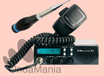 MIDLAND 220 TRANSCEPTOR DE BANDA CIUDADANA (27 Mhz) + SELECCIONA KIT - Midland 220 es un nuevo transceptor de banda ciudadana (27 Mhz) multiestándart, de dimensiones DIN, con altavoz frontal, sistema reductor de ruido ESP2 y el novedoso sistema