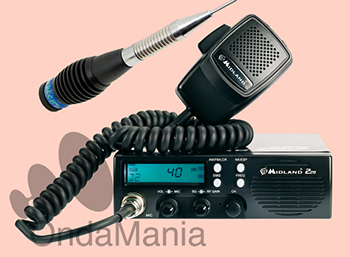 MIDLAND 220 TRANSCEPTOR DE BANDA CIUDADANA (27 Mhz) + SELECCIONA KIT