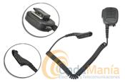 MICRO ALTAVOZ MIA 120-M7 - Micrófono altavoz MIA120-M7 microfono altavoz profesional para Motorola DMR Mototrbo, DP-3401, DP-3600, DP-3601 y el Tetra MTP 850S.