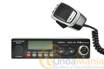 MIDLAND ALAN 78 PLUS MULTI B - OFERTA HASTA FIN DE STOCK -