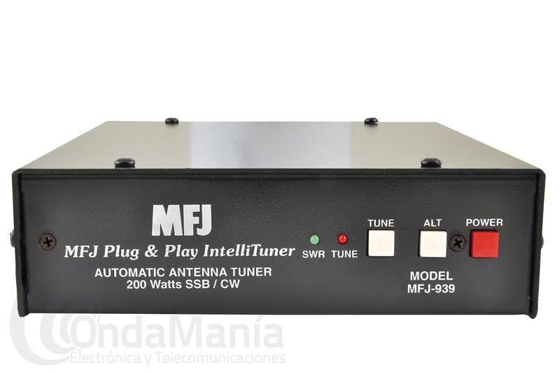 MFJ 939-Y PLUG & PLAY AUTO TUNER - ACOPLADOR AUTOMATICO DE ANTENA - SIN GASTOS DE ENVIO